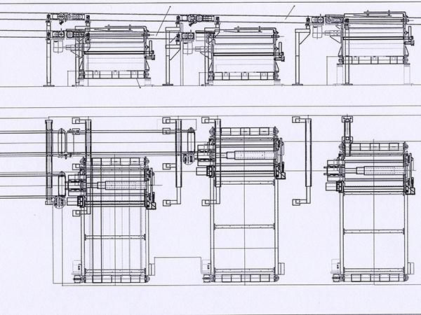 Скица на транспортно-подреждащо устройство